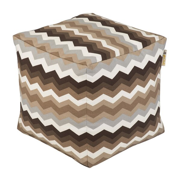 Wave Occassional Outdoor Pouf by JB Home