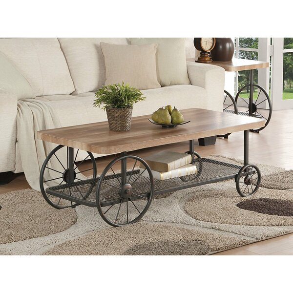 Lechner Mobile Coffee Table by 17 Stories