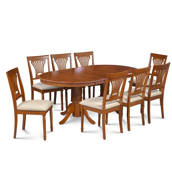 Inwood 9 Piece Extendable Dining Set by Darby Home Co Darby Home Co