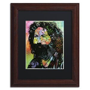 'Garcia' by Dean Russo Framed Graphic Art by Trademark Fine Art