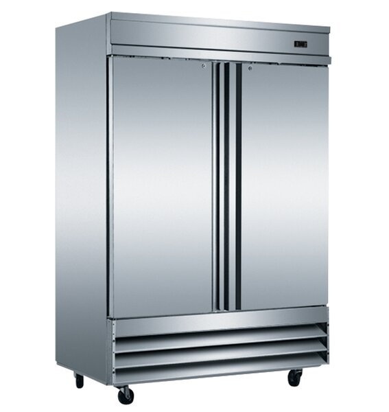 2-Door Commercial Reach-In 46.65 cu. ft. Upright Freezer by EQ Kitchen Line
