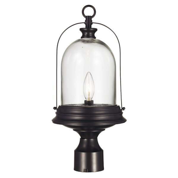Jennings 1-Light Lantern Head by Gracie Oaks