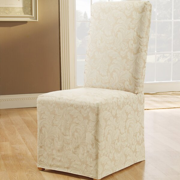 Scroll Classic Box Cushion Dining Chair Slipcover By Sure Fit