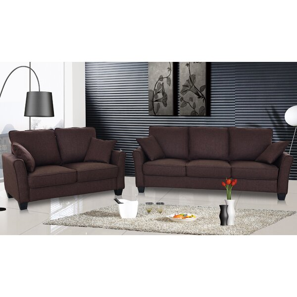 #1 Talia 2 Piece Living Room Set By PDAE Inc. Fresh