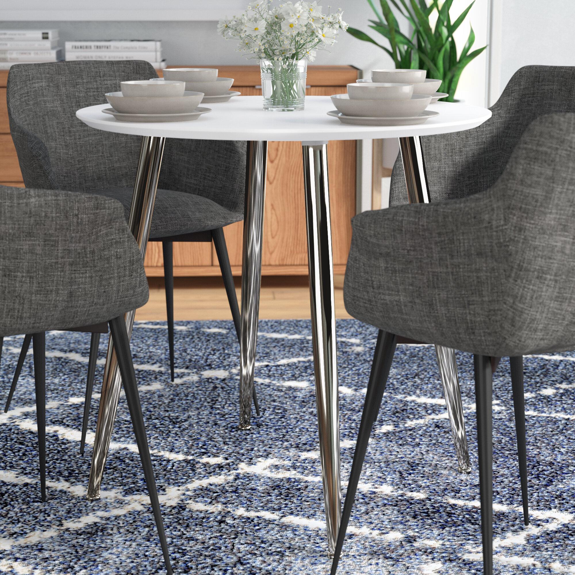 Ordinaire Orren Ellis Miskell Multifunctional Round Dining Table U0026 Reviews | Wayfair