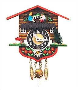 Chalet Carved Wall Clock by Black Forest