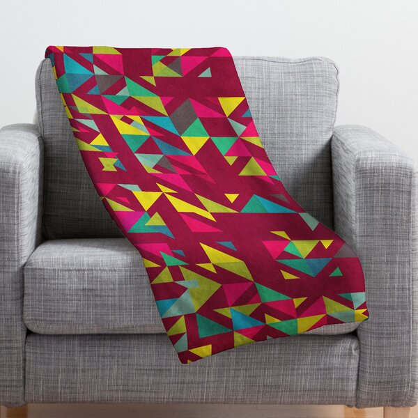 Cunniff Chaos 3 Throw Blanket by Brayden Studio