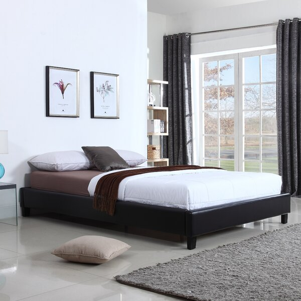 Guillory Upholstered Platform Bed by Wrought Studio