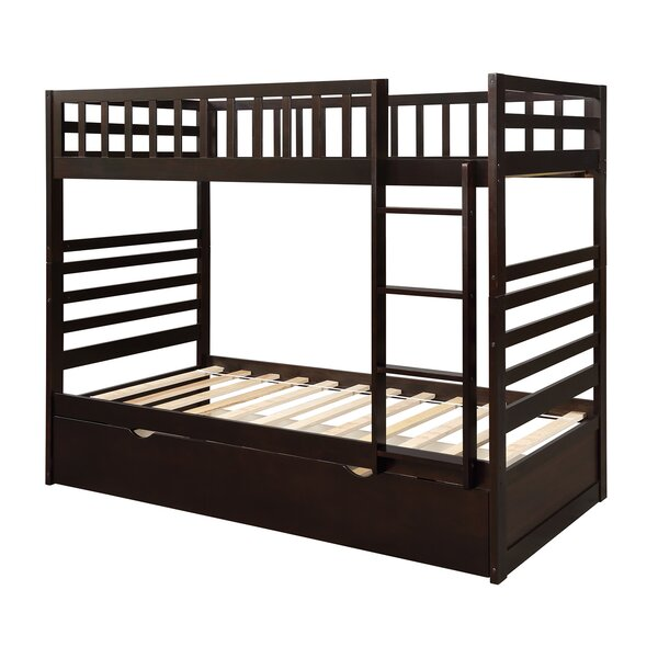 Zampa Twin over Twin Bunk Bed by Harriet Bee