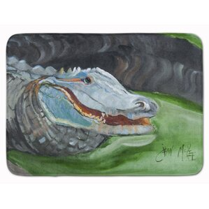Lovely Alligator Memory Foam Bath Rug