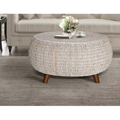 Arboleda Coffee Table Color: White Wash by Beachcrest Home