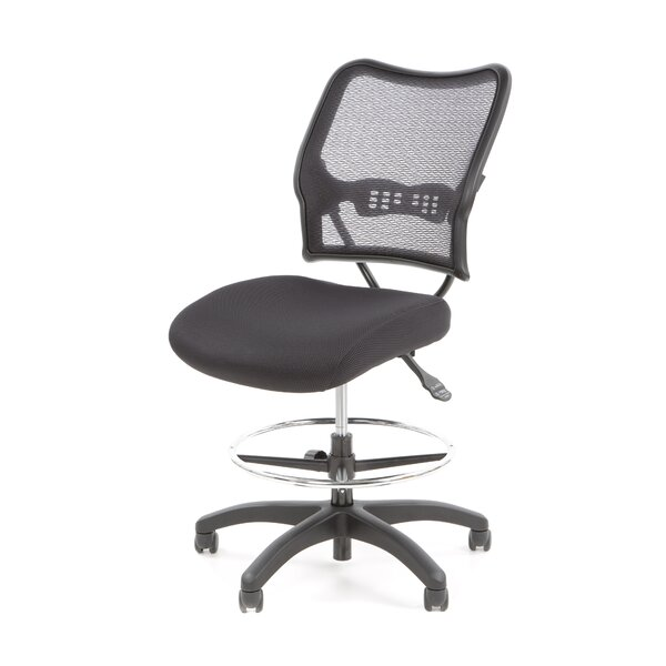 SPACE Mid-Back Mesh Drafting Chair by Office Star Products