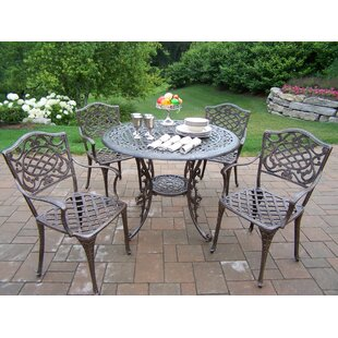 Mississippi 5 Piece Semi Dining Set By Oakland Living