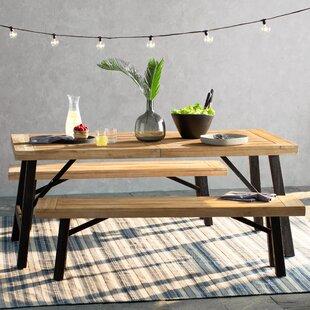 Teak Indoor Dining Set | Wayfair