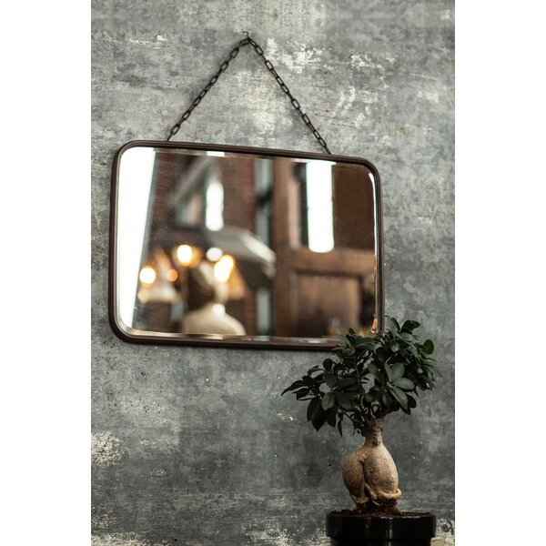 Traskwood Metal Bevel Glass Accent Mirror by Williston Forge