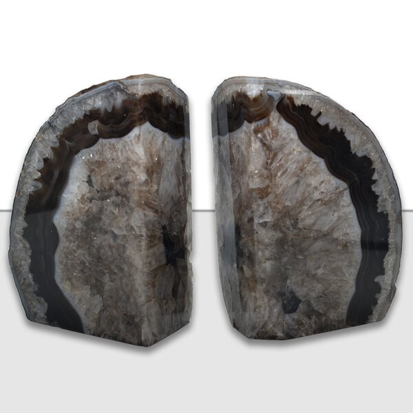 Agate Bookends by Mercer41