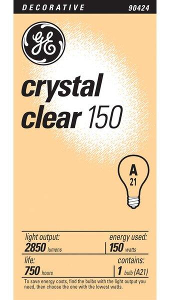 E26/Medium Incandescent Light Bulb by GE