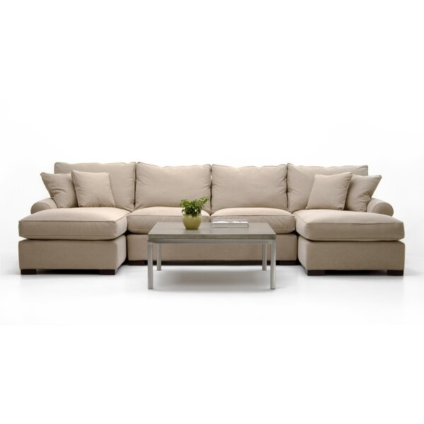 Sheilds Symmetrical Sectional By Canora Grey
