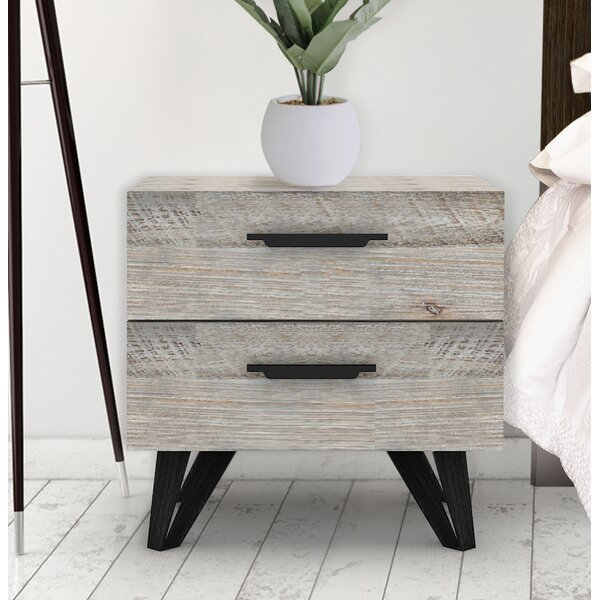Crotty 2 Drawer Nightstand by Foundry Select
