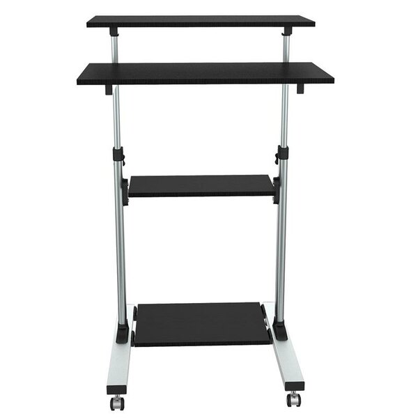 ProHT Height-Adjustable Book Cart by Inland Products