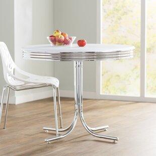retro chrome kitchen table wayfair