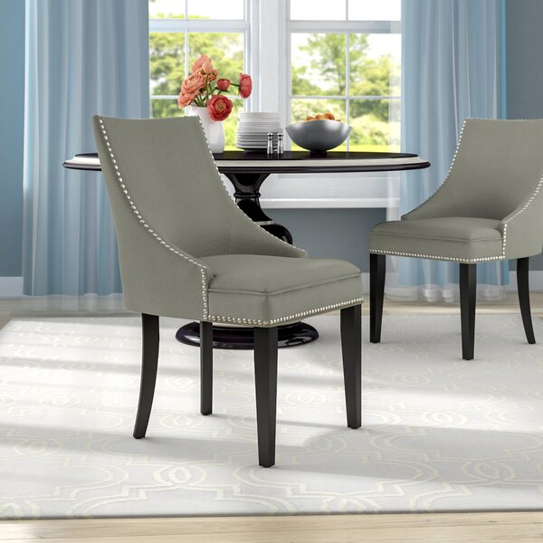 Katherina Upholstered Dining Chair (Set of 2) by House of Hampton