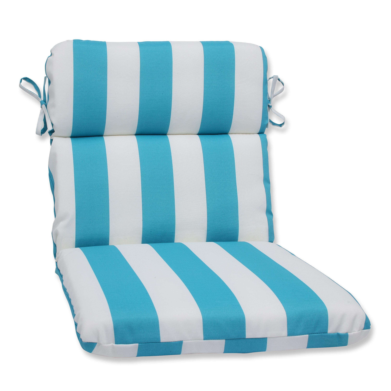 Pillow Perfect Cabana Stripe Indoor/Outdoor Lounge Chair Cushion | Wayfair