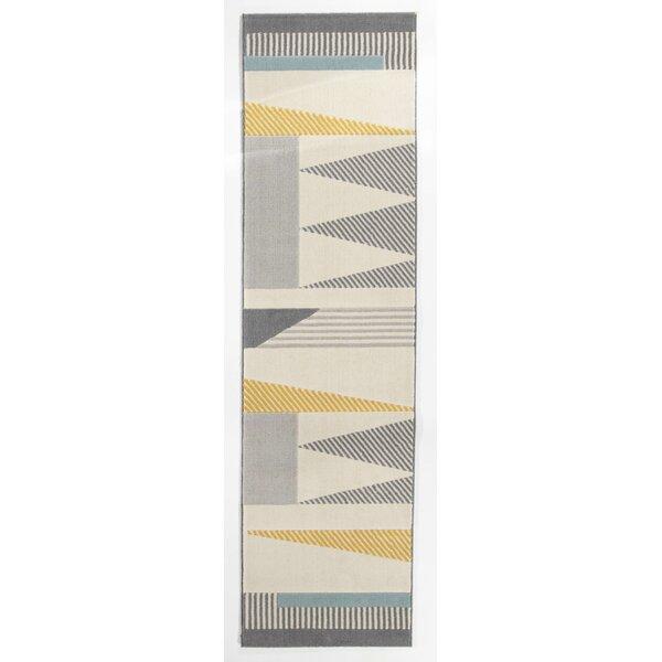 Amundson Abstract Gray Area Rug