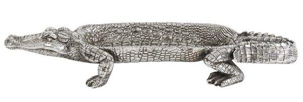 Garrick Crocodile Accent Tray by Bay Isle Home