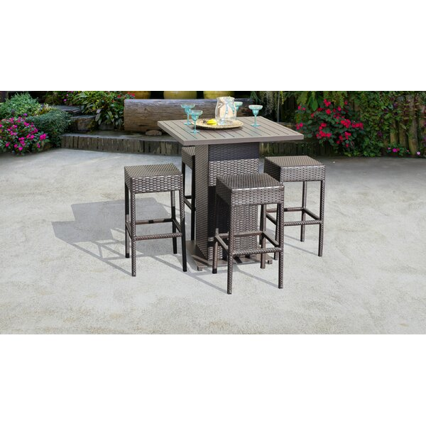 Fernando 5 Piece Bar Height Dining Set by Sol 72 Outdoor