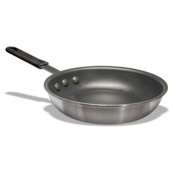 Aluminum Platinum Pro Non-Stick Frying Pan with Molded Handle by Crestware