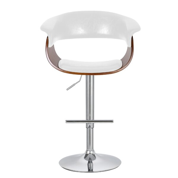 Ian Adjustable 33 Swivel Bar Stool by Corrigan Studio