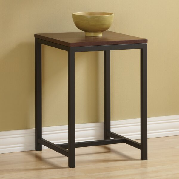 Iris End Table by Mercury Row