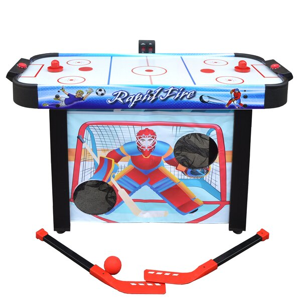 20 Rapid Fire Air Hockey Multi-Game Table by Hathaway Games