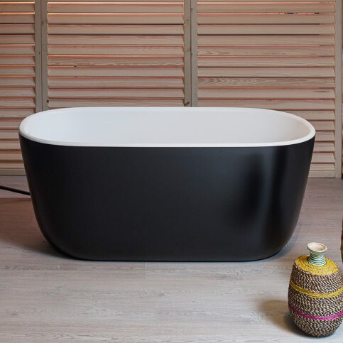 PureScape 60.63 x 26.77 Soaking Bathtub by Aquatica