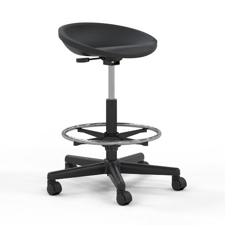 Technical Height Adjustable Swivel Stool by Mayline Group
