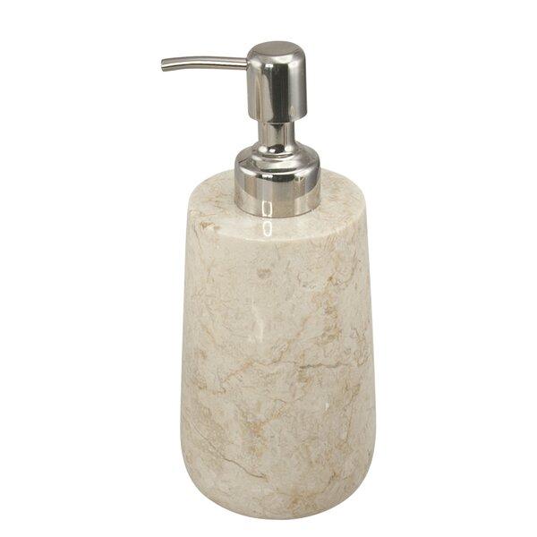 Farnham Natural Marble Lotion Dispenser by Gracie Oaks