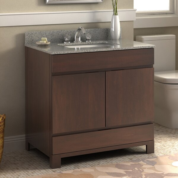 Oxford 36 Single Bathroom Vanity Set by Lanza
