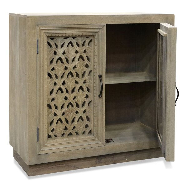 Yusuf 2 Door Accent Cabinet by One Allium Way One Allium Way