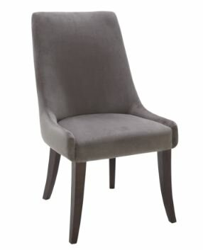 5West San Diego Upholstered Dining ChaiR (Set Of 2)