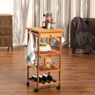 Montserrat Rolling Table Kitchen Cart by Winston Porter