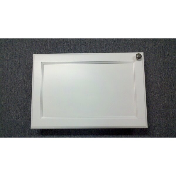 Frameless 15.5 W x 37.5 H Recessed Cabinet by WG Wood Products