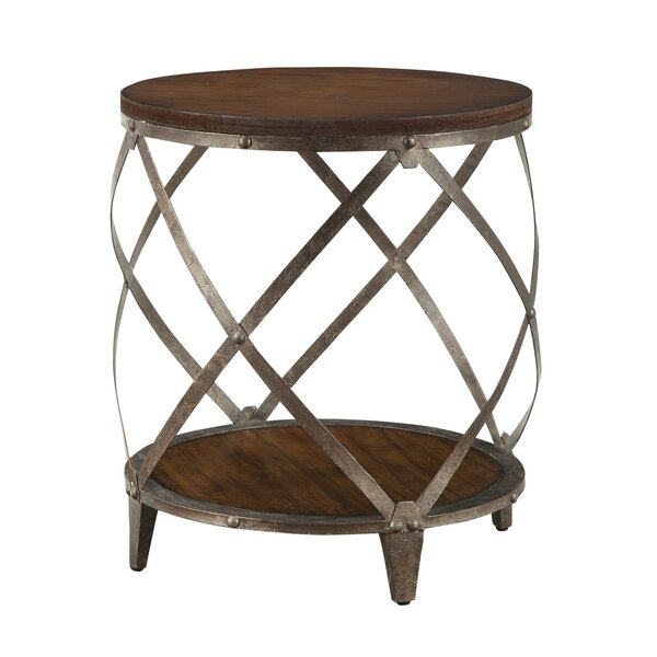 Cheatwood Oak End Table by Williston Forge