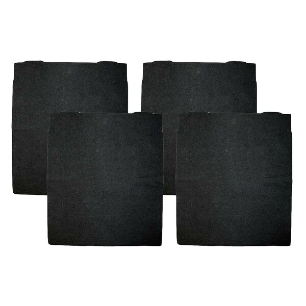 Carbon Pre Air Filter (Set of 4) by Crucial