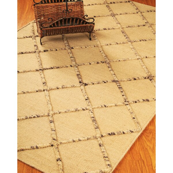 Hand-Woven Cream Area Rug by The Conestoga Trading Co.