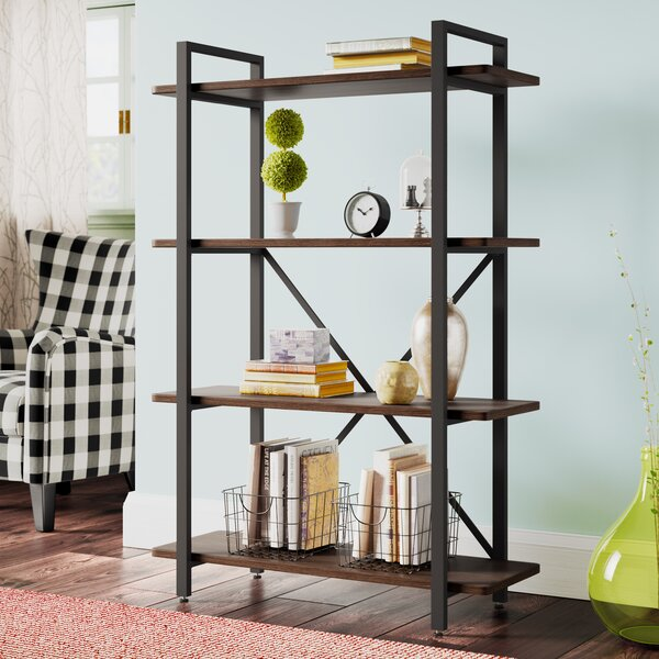 Laurel Foundry Modern Farmhouse Black Bookcases