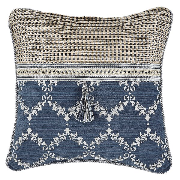 Madrena Fashion Throw Pillow by Croscill Home Fashions