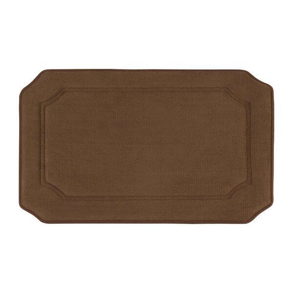 Goodfield Micro Plush Memory Foam Bath Mat by Andover Mills