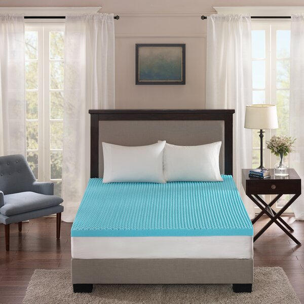 3 Gel Memory Foam Mattress Topper by Alwyn Home
