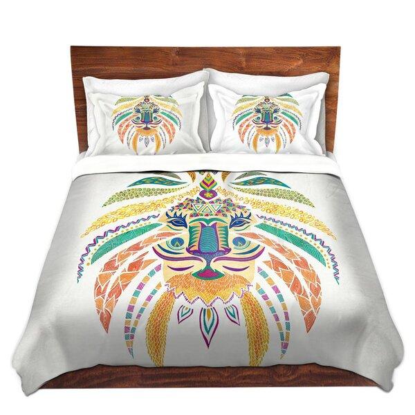Whimsical Lion I Duvet Cover Set